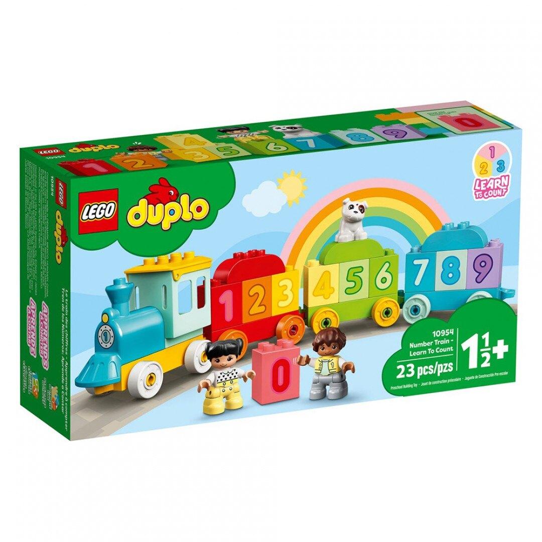樂高LEGO 10954   Duplo 得寶系列  我的第一台數字列車-學習數數