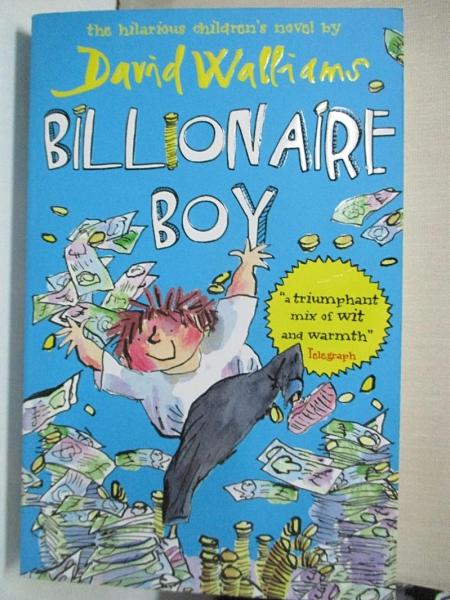【書寶二手書T1/少年童書_GPA】Billionaire Boy_David Walliams