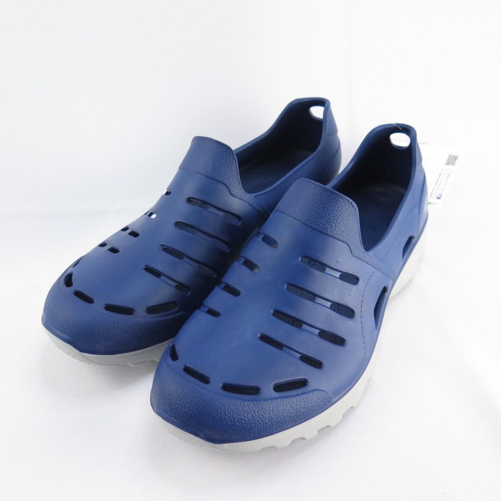 LOTTO ROSSA 晴雨穿搭休閒鞋 男款 LT0AMS2336 藍灰 整數尺碼【iSport愛運動】