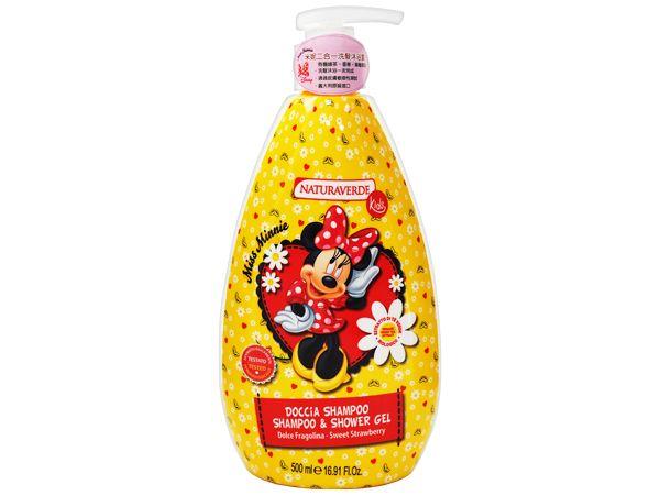 自然之綠~米妮二合一兒童雙效洗髮沐浴露(500ml)【D116907】