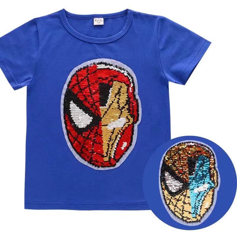 男童全棉T恤 蜘蛛俠