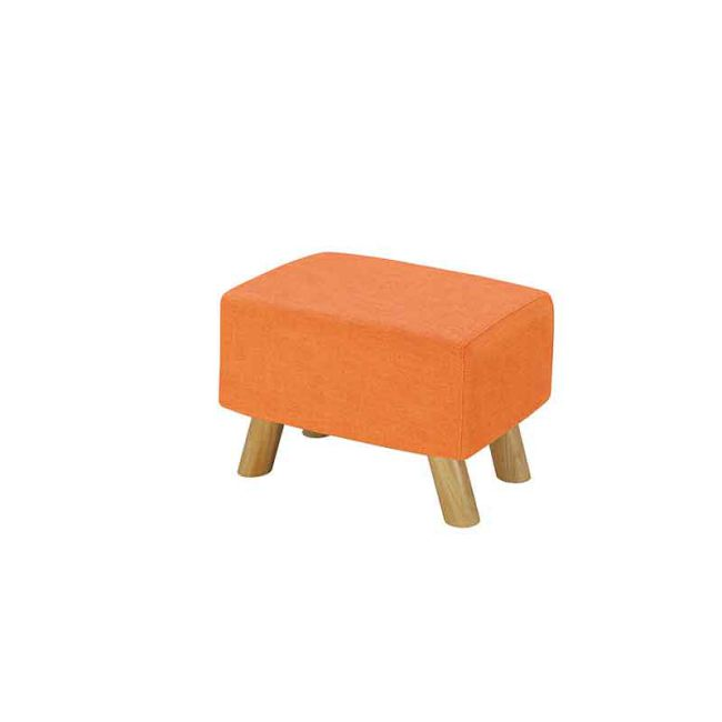 【GB251-9】奈德橘色長方凳(D02)