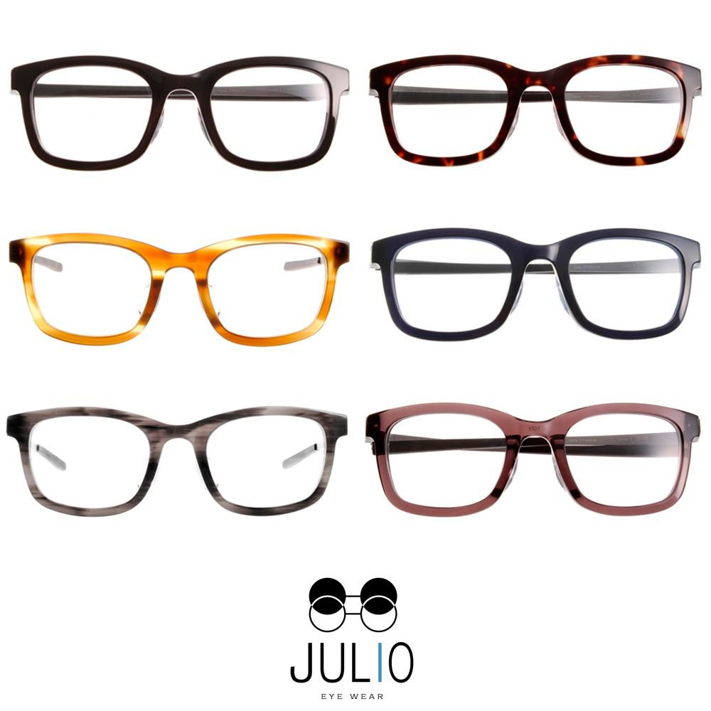 JULIO 光學眼鏡 PARIS 極致輕薄完美工藝 平光鏡框 - 金橘眼鏡