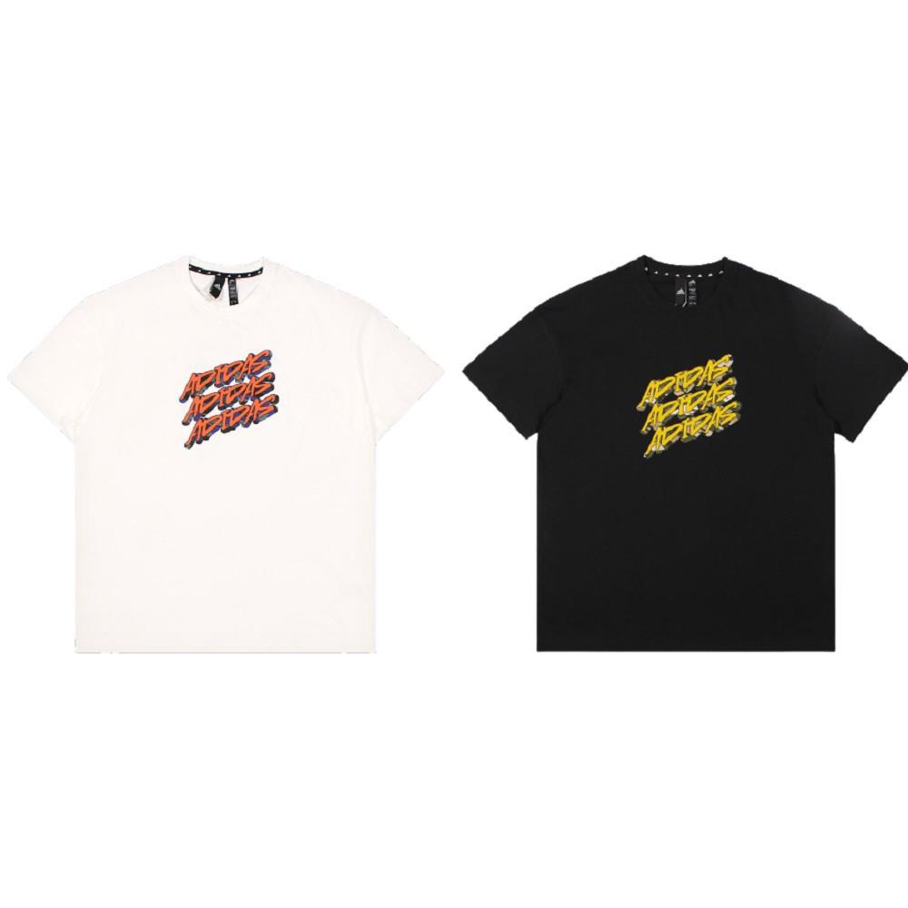 ADIDAS 男 短袖T恤 UB GFX T ADIDAS 休閒 標語 黑白 - GP0839 / GP0840