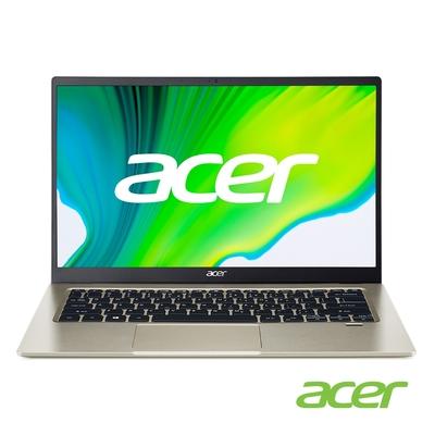 Acer SF114-34-C0JD 14吋輕薄筆電(N5100/4G/256G SSD/Swift 1/金)