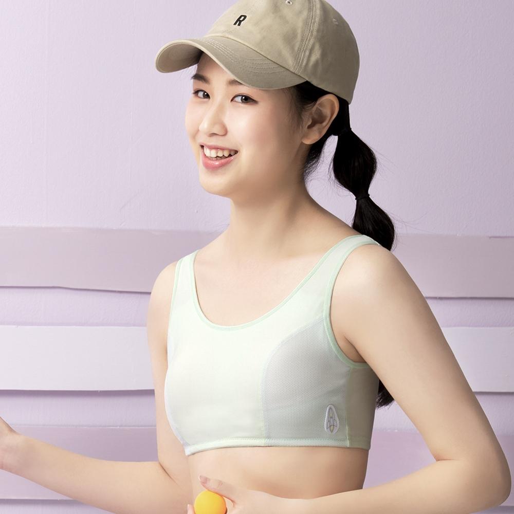 嬪婷 校園運動系列 M-3L背心(好動綠) -BB1221G3