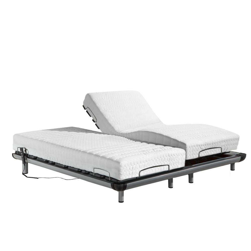 【 Famo 】適中偏硬 │ 樂活線控電動床組 A3 冷凝膠床墊 標準雙人 6 尺【 蝦幣10倍送 】