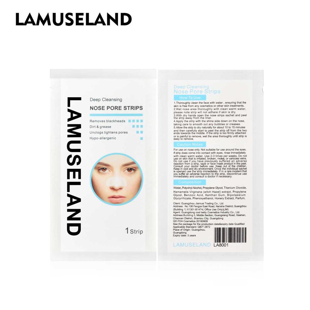 拉慕絲蘭 深層清潔鼻孔黑頭卸妝膏,清潔鼻部面膜 LA8001