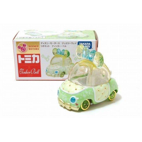 《Disney》Tomica 粉鑽蝴蝶結車-奇妙仙子