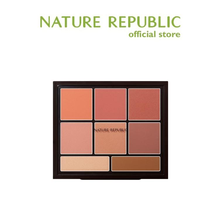 [Nature Republic] 專業觸感腮紅高光陰影盤 34g