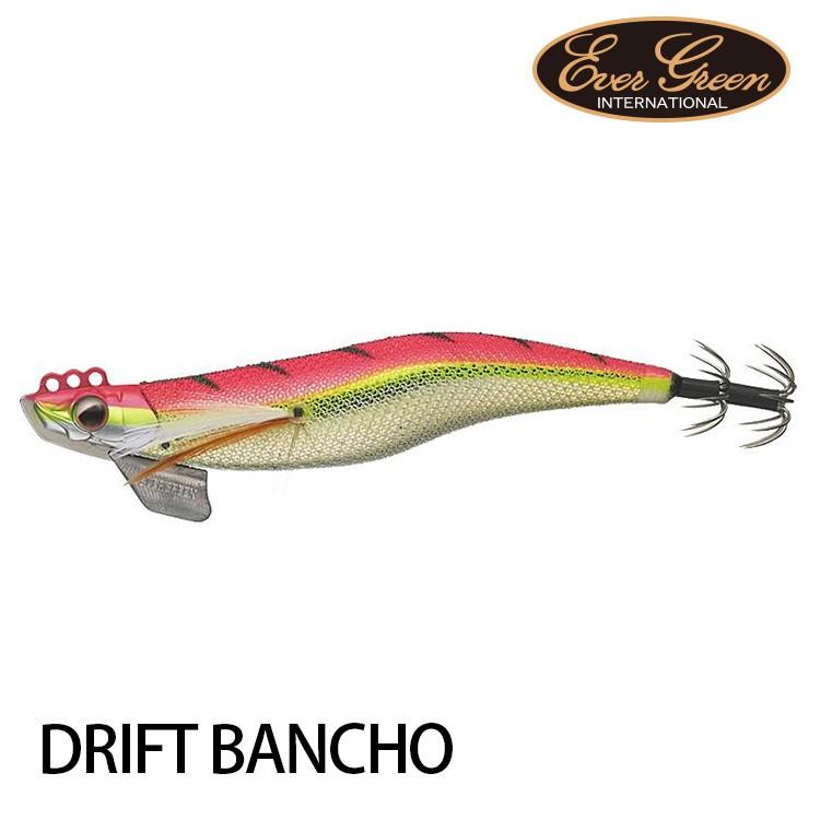 EVERGREEN DRIFT BANCHO 番長 3.0 [漁拓釣具] [木蝦][加重]