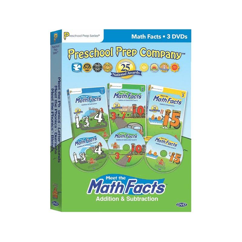 【Preschool Prep】數學加減DVD-團