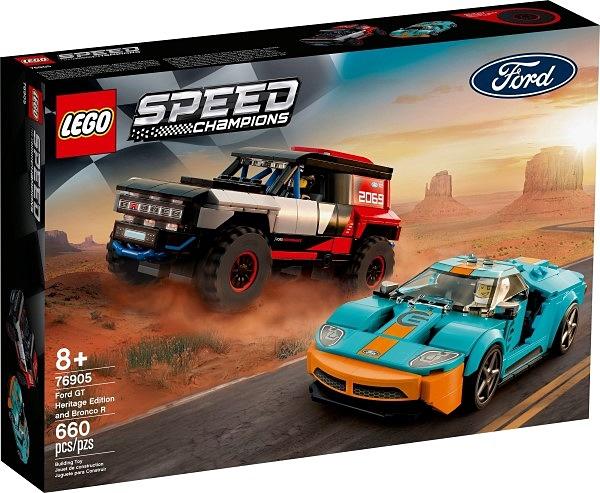 樂高LEGO SPEED 福特 GT Heritage Edition 和 Bronco R 76905 TOYeGO 玩具e哥