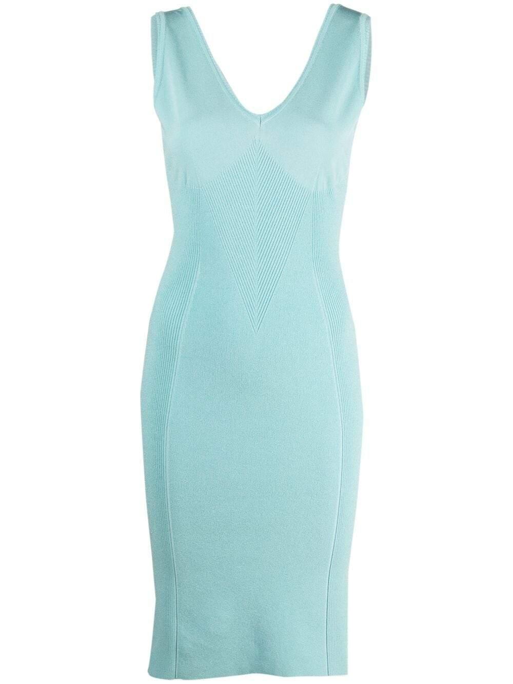 Alberta Ferretti Dresses Clear Blue
