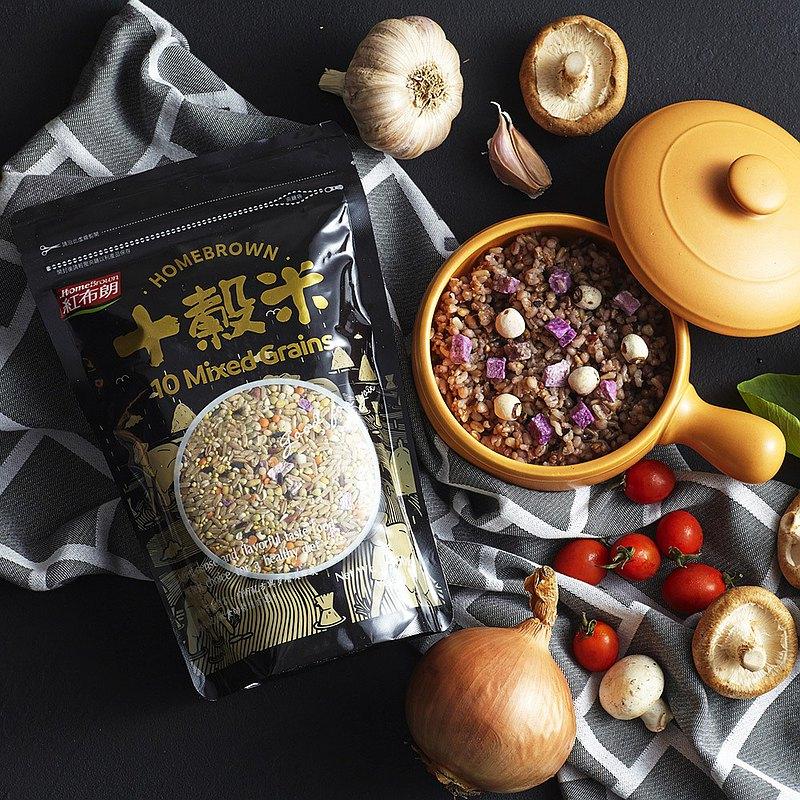 【紅布朗】十穀米 (900g/袋)