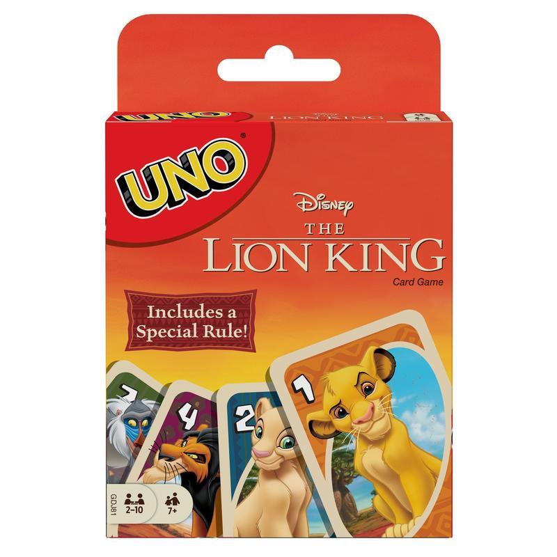 UNO:獅子王 UNO:LION KING 英文版 台北陽光桌遊商城