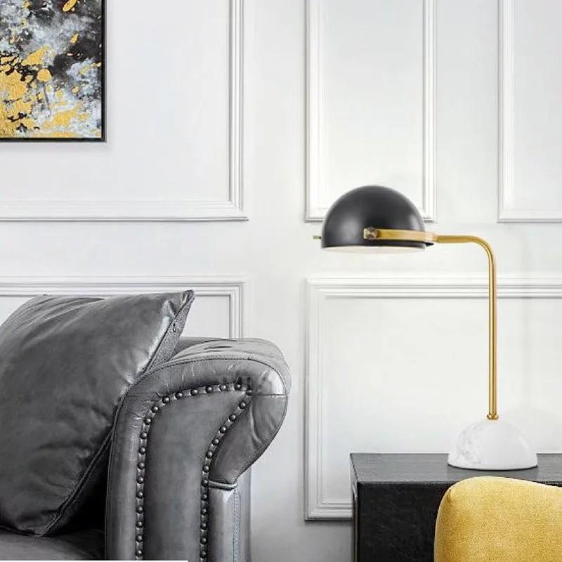 美式復古 / 半圓球燈罩檯燈-GF015T| 現代風 | 簡約風流行燈飾 (保固兩年)【實體門市】