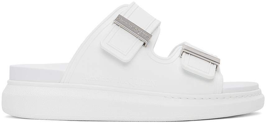 Alexander McQueen 白色 Hybrid 凉鞋