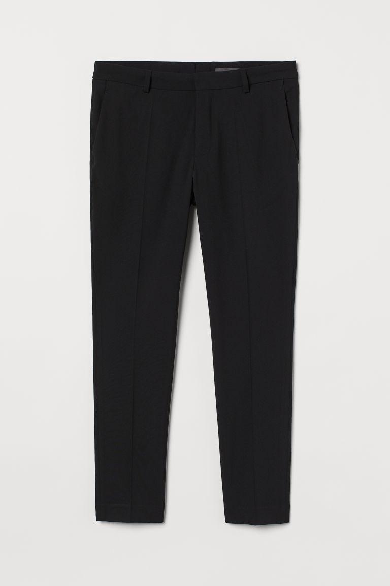 H & M - 超緊身長褲 - 黑色