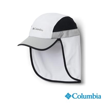 Columbia 哥倫比亞 男女款- UPF50抗曬快排遮陽帽-白色  UCU02480WT