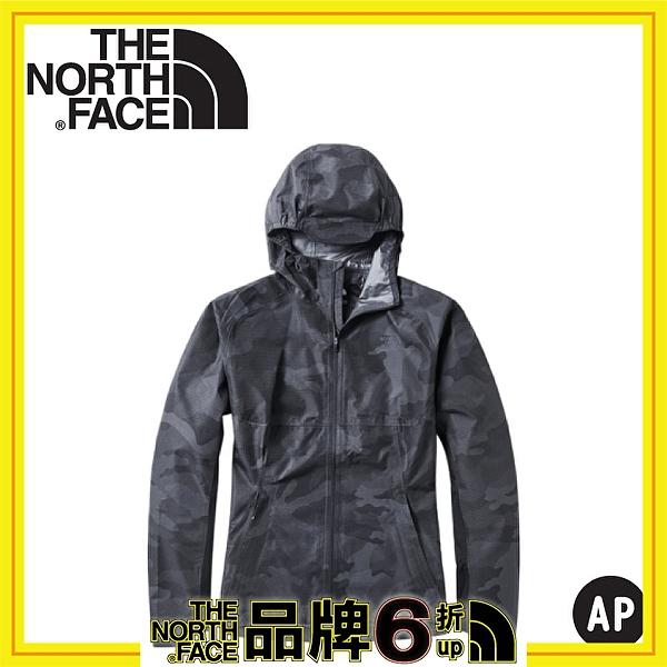 【The North Face 男 防水外套《迷彩印花》】3YVE/防水外套/衝鋒衣/防風外套/保暖外套/防風