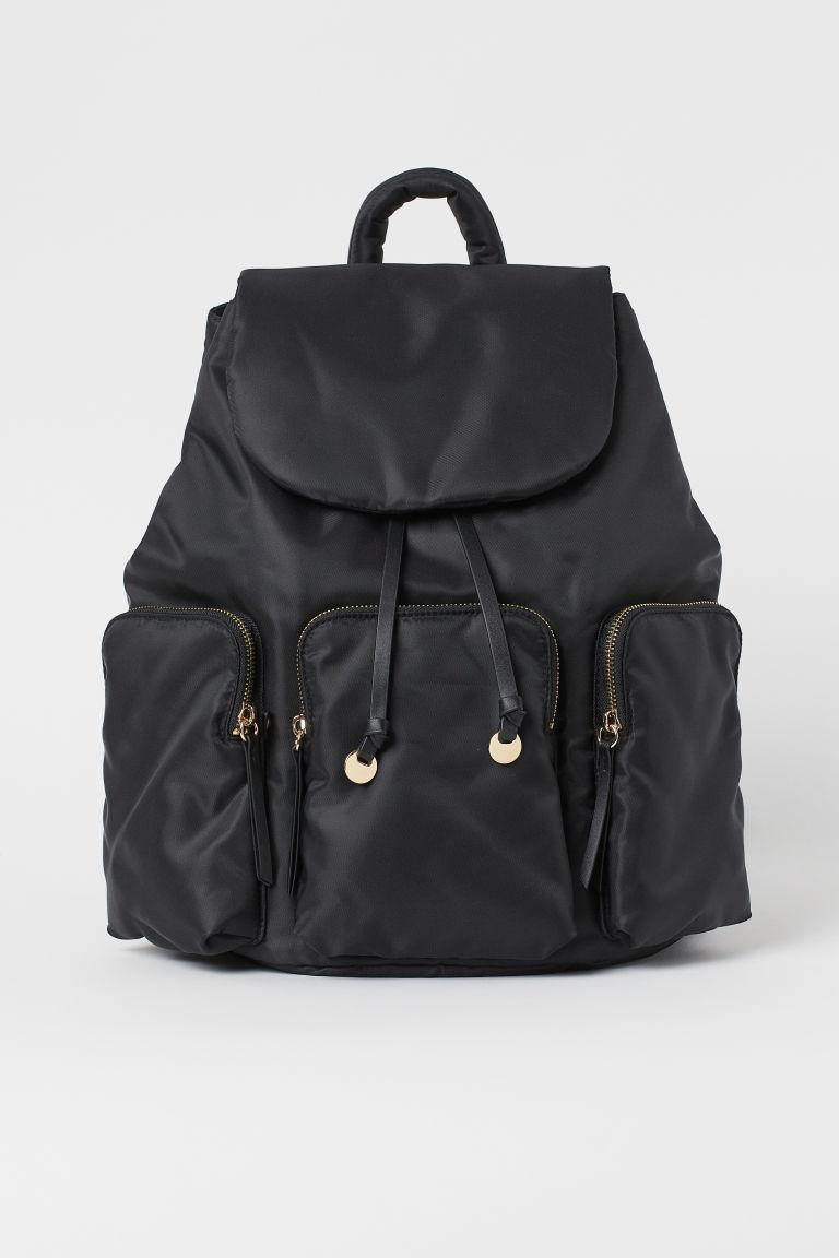 H & M - 後背包 - 黑色