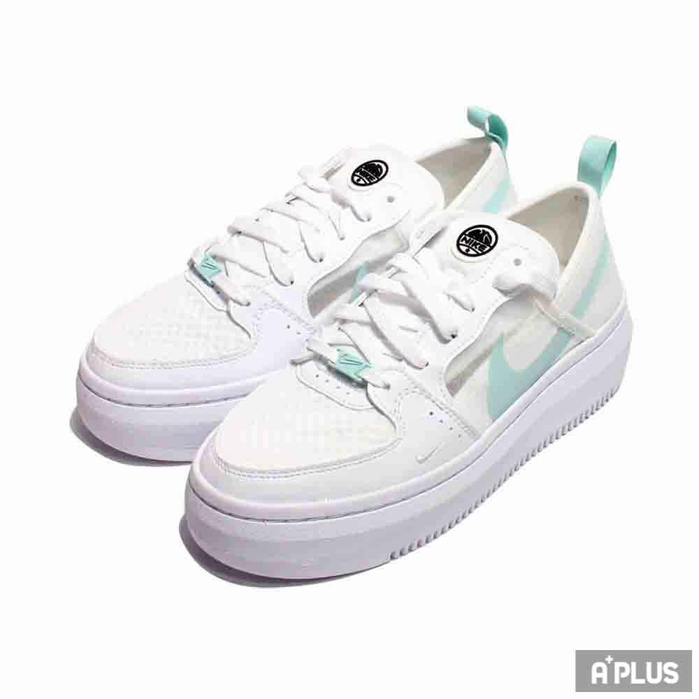 NIKE 女 W NIKE COURT VISION ALTA TXT 休閒鞋 湖水綠 厚底 - CW6536100