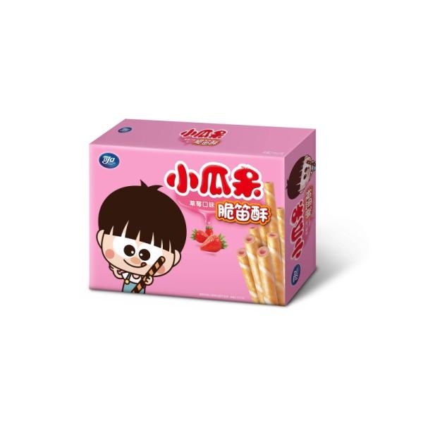 可口小瓜呆脆笛酥草莓量販包 210g  【大潤發】