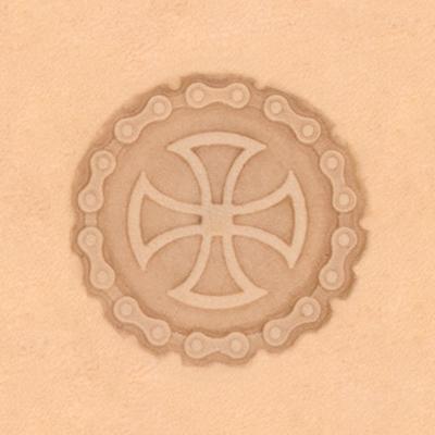 IVAN 圓/十字架立體印花工具8551-00