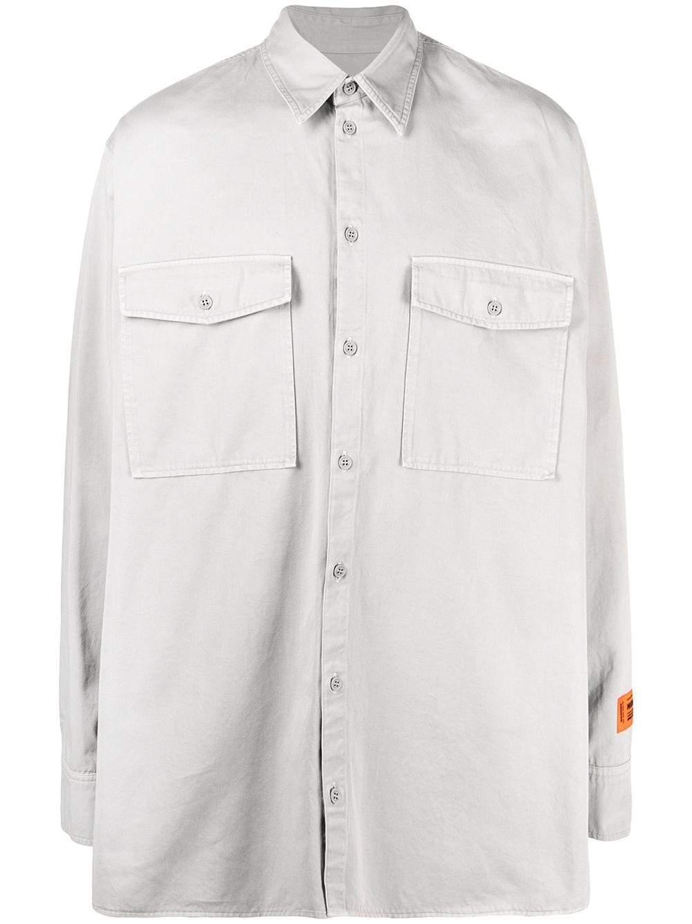 Heron Preston Shirts Grey