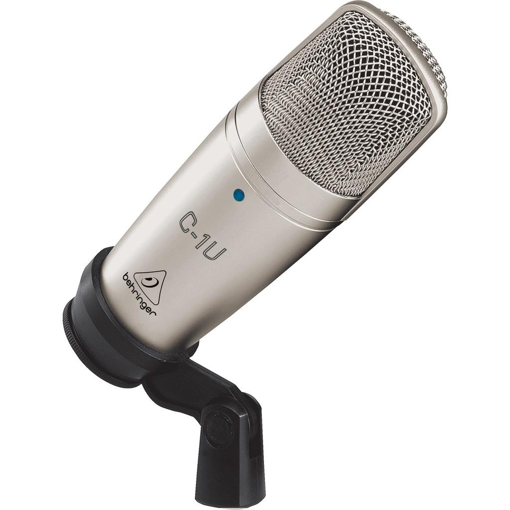 德國 Behringer 百靈達 C-1U USB電容式麥克風 錄音【全館折300】