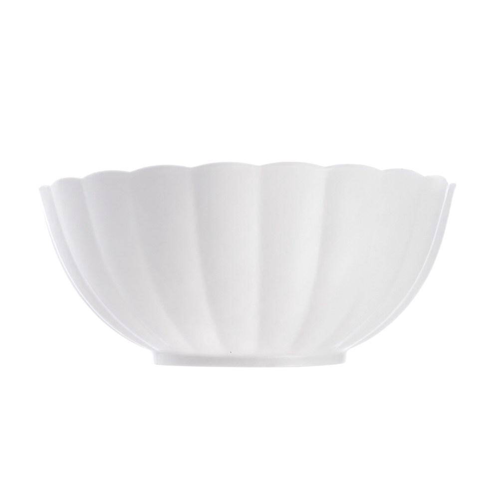 芙里花型輕量湯碗8.25吋