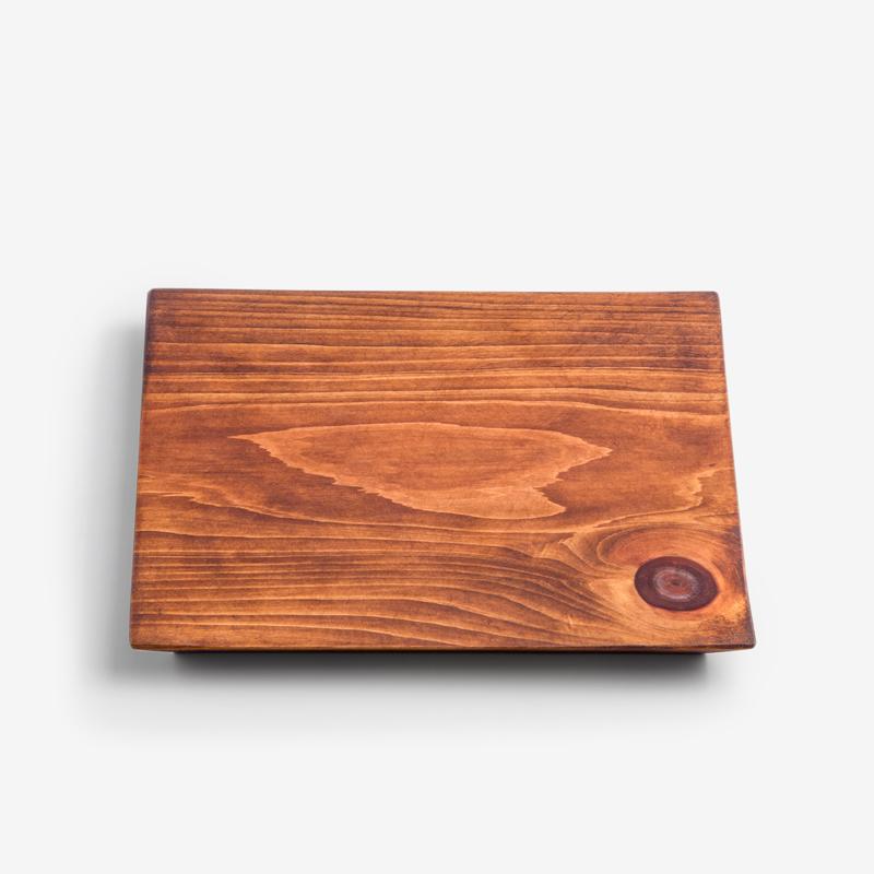 職人 原生木質 20cm 檜木方盤︱平滑︱單品