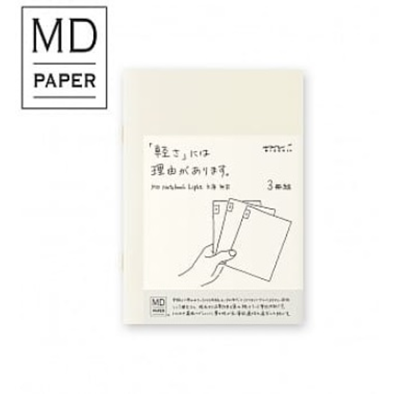 【Midori】MD Notebook輕量文庫空白3冊
