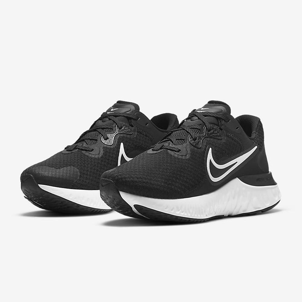 Nike Renew Run 2 男慢跑鞋 黑白 CU3504005 Sneakers542