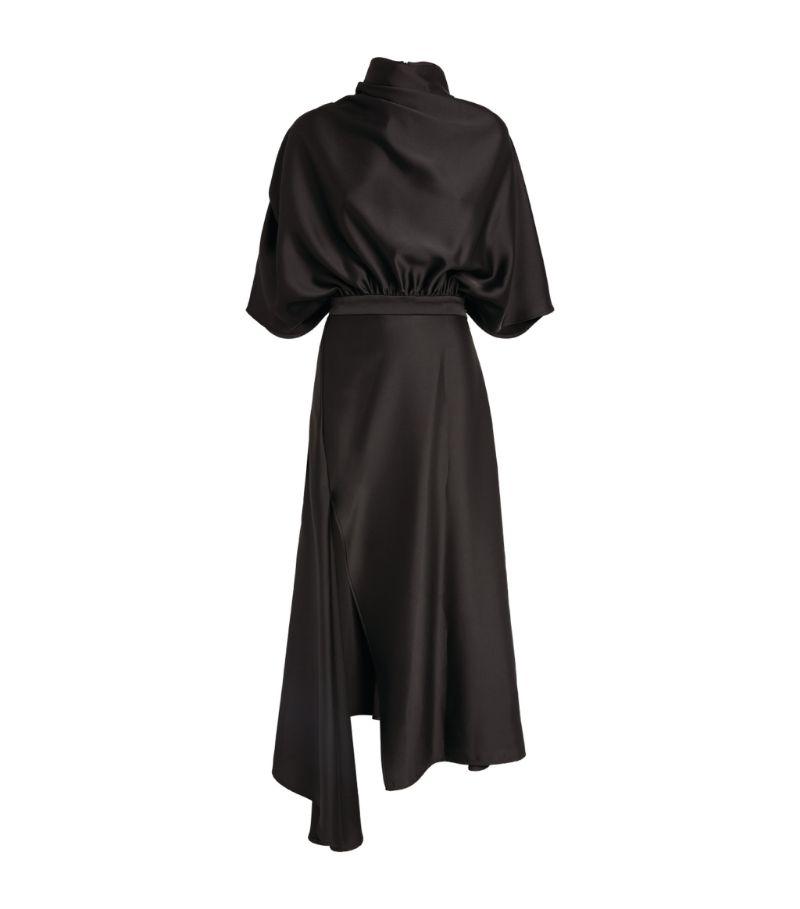 Ellery Satin Santorini Midi Dress