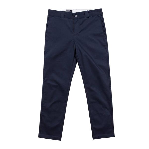 特價75折!!【DICKIES】WD812 低腰小直筒斜紋布 工作長褲 (深藍DN)