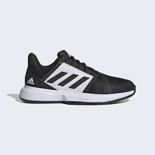 Adidas Courtjam Bounce M Clay [FX1497] 男鞋 網球鞋 運動 休閒 透氣 支撐 黑白