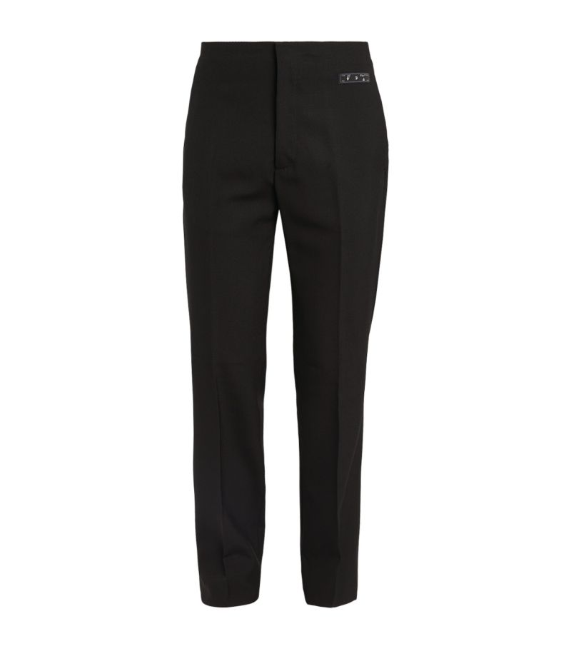 Off-White Slim Tailored Trousers