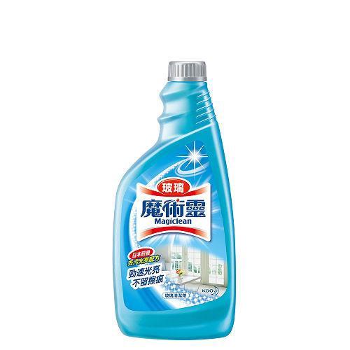 魔術靈玻璃清潔劑補充瓶500ml X2入【愛買】