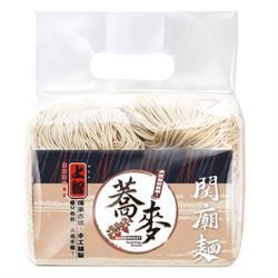 【上智關廟麵】蕎麥麵900g(2包) 正統手工日曬 日光麵 乾麵 湯麵