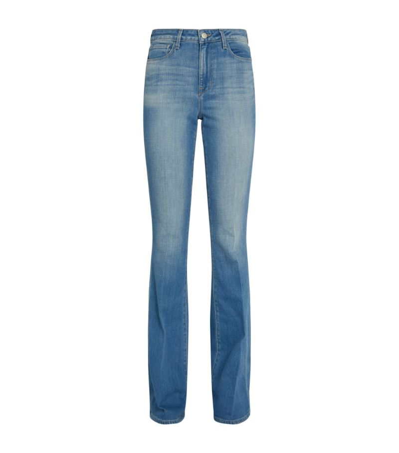 L'Agence High-Rise Bell Flared Jeans