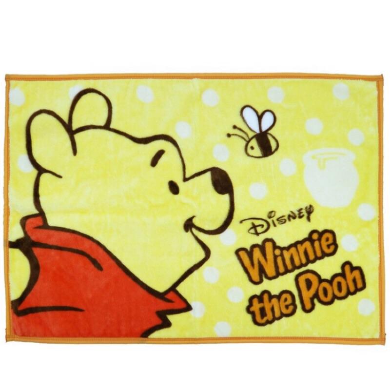 小熊維尼 企鵝 小美人魚 角落生物 毛毯 小毛布 毯子 正能量企鵝 維尼【hello_japan】