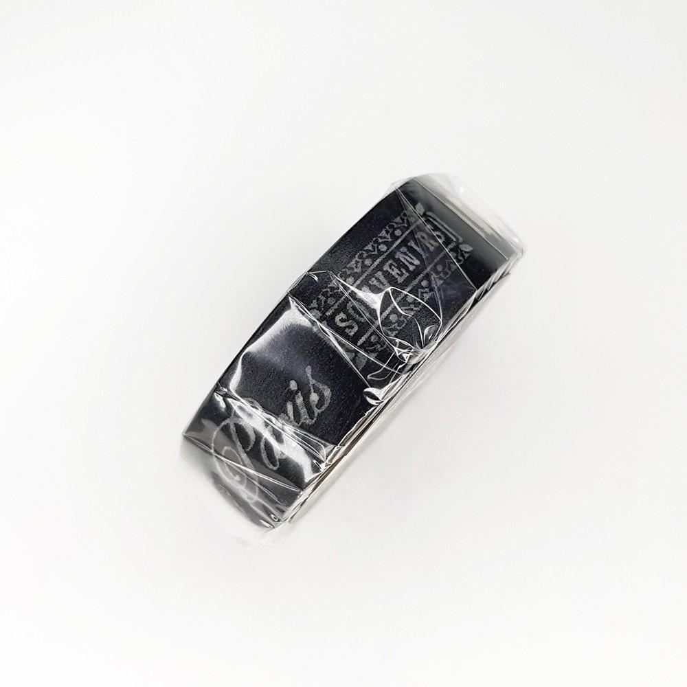 maste 和紙膠帶 Grand【巴黎文字-黑 (MSG-MKT10-BK)】