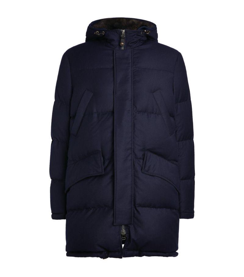 Yves Salomon Homme Longline Padded Coat