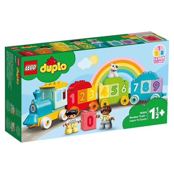 LEGO樂高 10954 數字列車-學習數數 玩具反斗城