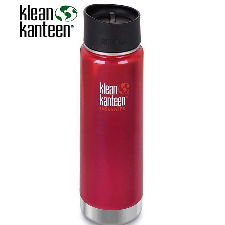 Klean Kanteen 20oz寬口保溫鋼瓶 (K20VWPCC) 彩椒紅 【登山屋】