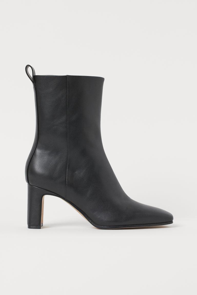 H & M - 踝靴 - 黑色