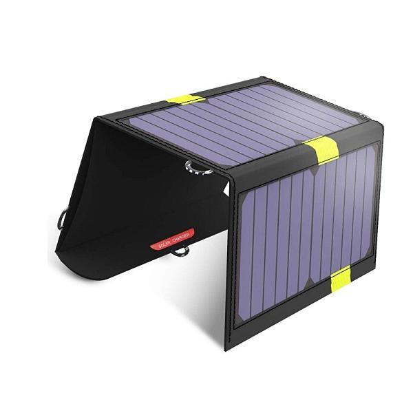 [2美國直購] X-DRAGON 20W太陽能充電板 雙USB端口和SolarIQ 技術 適用iPhone、iPad Mini、三星