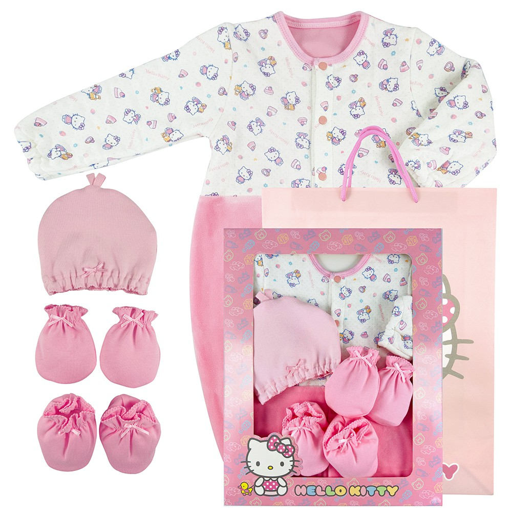 【HELLO KITTY】彌月妙妙裝禮盒組